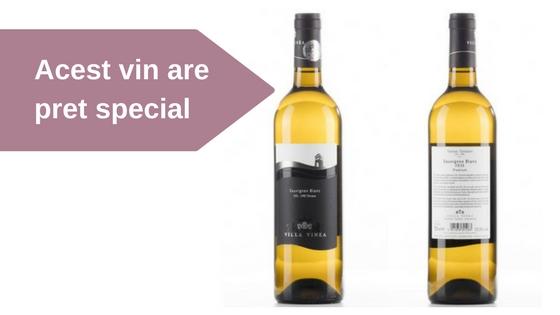 Vinul saptamanii – Sauvignon Blanc Premium 2016 VILLA VINEA  –